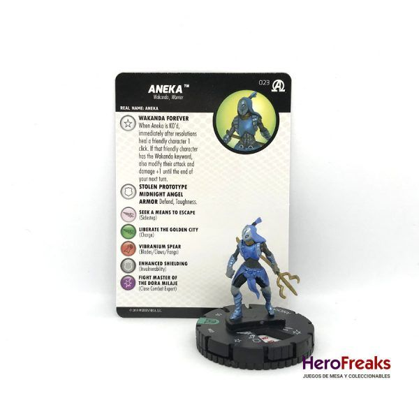 Heroclix Avengers Black Panther Illuminati – 023 Aneka