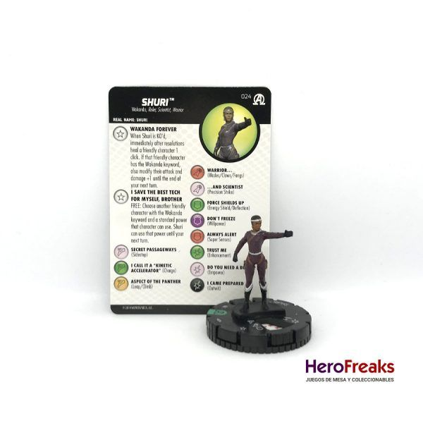 Heroclix Avengers Black Panther Illuminati – 024 Shuri