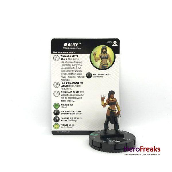 Heroclix Avengers Black Panther Illuminati – 025 Malice