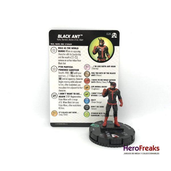 Heroclix Avengers Black Panther Illuminati – 028 Black Ant