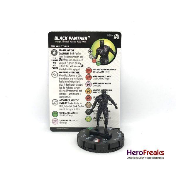 Heroclix Avengers Black Panther Illuminati – 029a Black Panther