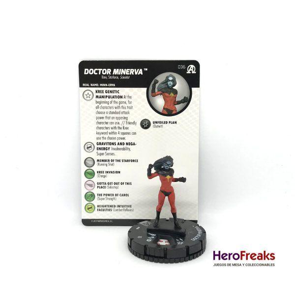 Heroclix Avengers Black Panther Illuminati – 036 Doctor Minerva