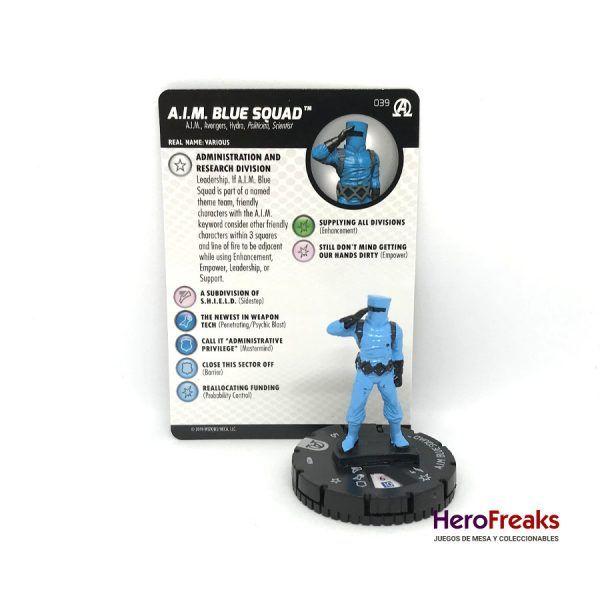 Heroclix Avengers Black Panther Illuminati – 039 A.I.M. Blue Squad