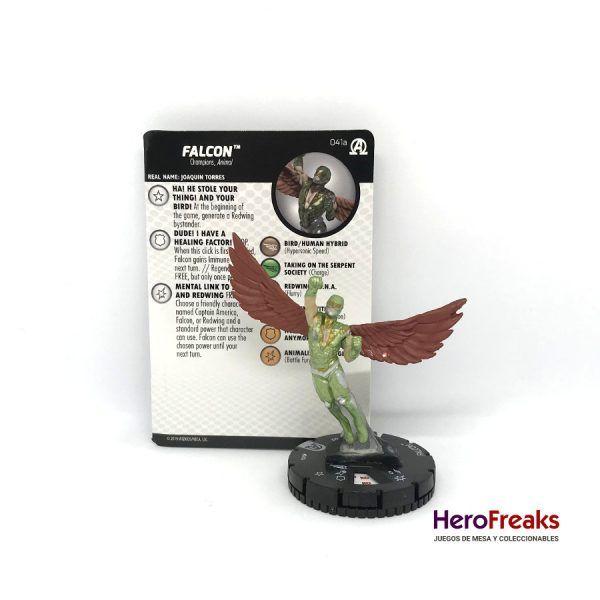 Heroclix Avengers Black Panther Illuminati – 041a Falcon