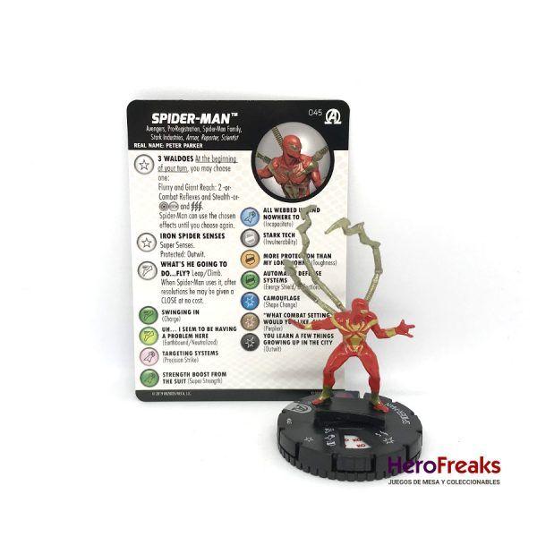 Heroclix Avengers Black Panther Illuminati – 045 Spider-Man