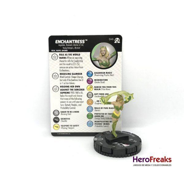 Heroclix Avengers Black Panther Illuminati – 046 Enchantress