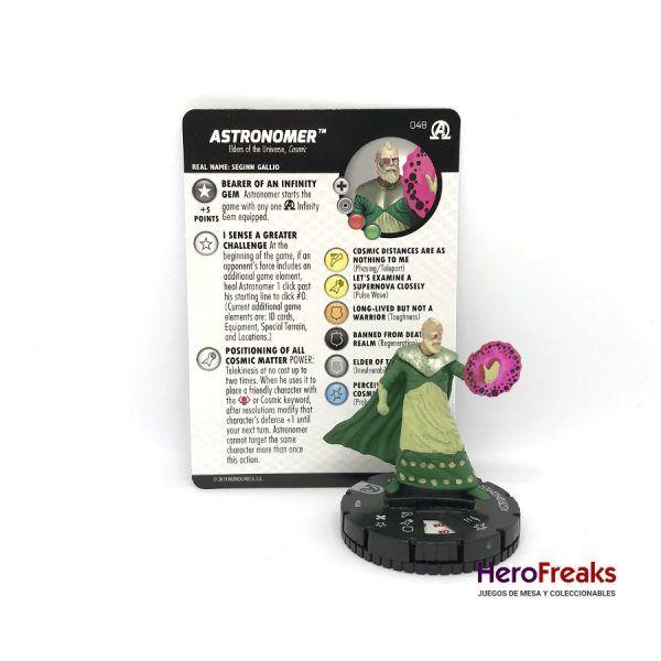 Heroclix Avengers Black Panther Illuminati – 048 Astronomer