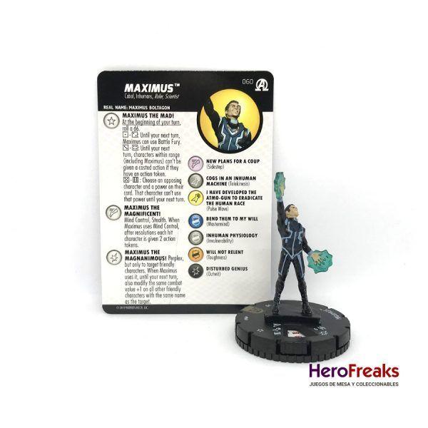 Heroclix Avengers Black Panther Illuminati – 060 Maximus
