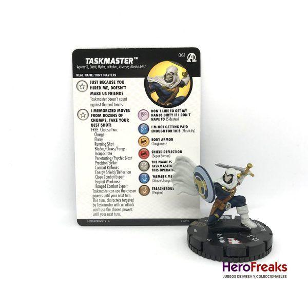 Heroclix Avengers Black Panther Illuminati – 061 Taskmaster