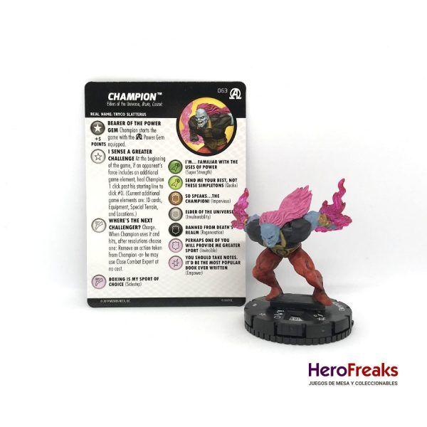 Heroclix Avengers Black Panther Illuminati – 063 Champion