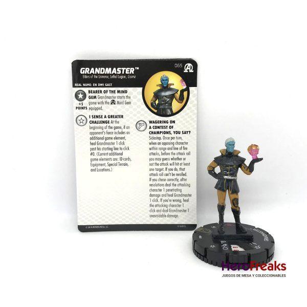Heroclix Avengers Black Panther Illuminati – 065 Grandmaster