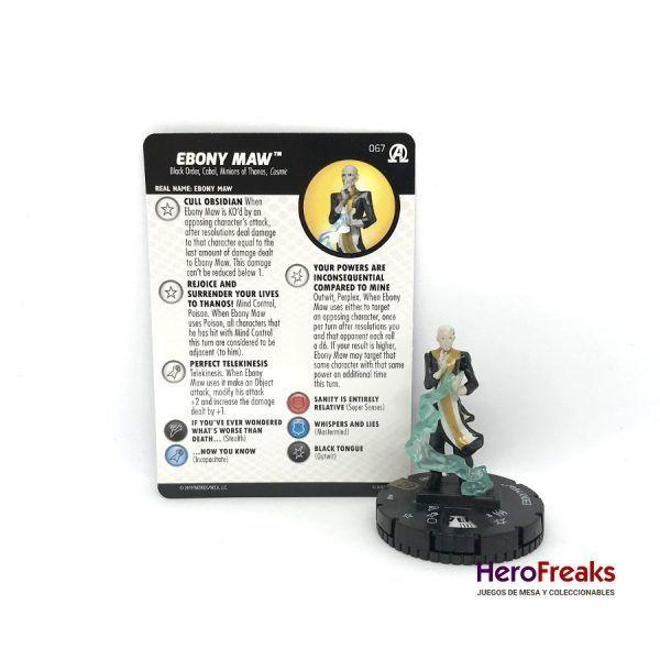 Heroclix Avengers Black Panther Illuminati – 067 Ebony Maw