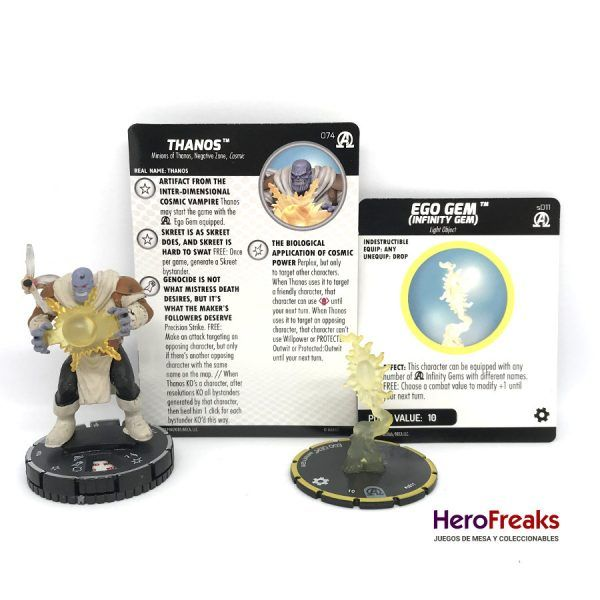 Heroclix Avengers Black Panther Illuminati – 074 Thanos