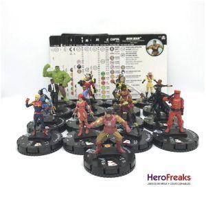 Heroclix Avengers Black Panther Illuminati – Lote de Comunes