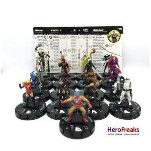 Heroclix Avengers Black Panther Illuminati – Lote de Infrecuentes