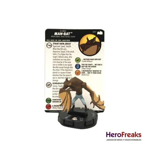 Heroclix Batman TAS – 057 Man-Bat
