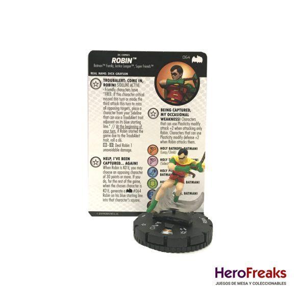 Heroclix Batman TAS – 064 Robin