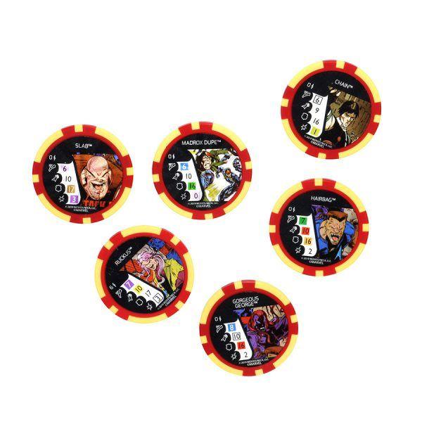 X-Men The Animated Series The Dark Phoenix Saga - Dice & Token Pack