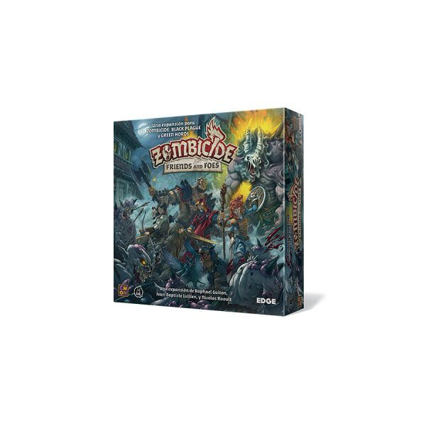 Zombicide Black Plague Friends and Foes