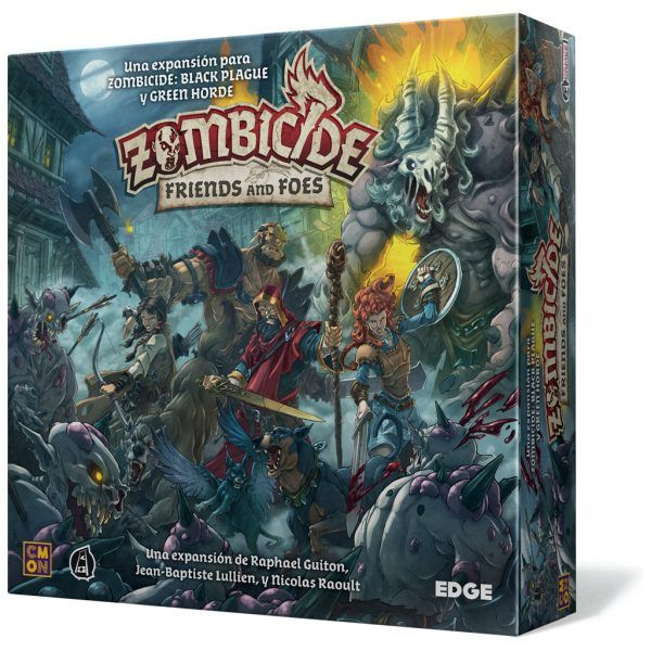 Zombicide Black Plague Friends and Foes1