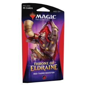 MTG El Trono de Eldraine - Sobre Temático Rojo