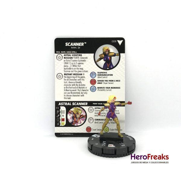 Heroclix X-Men Dark Phoenix Saga – 008 Scanner