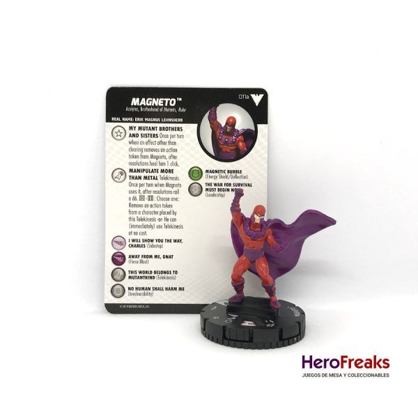 Heroclix X-Men Dark Phoenix Saga – 011a Magneto