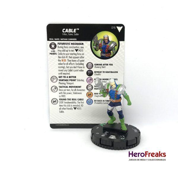 Heroclix X-Men Dark Phoenix Saga – 015 Cable
