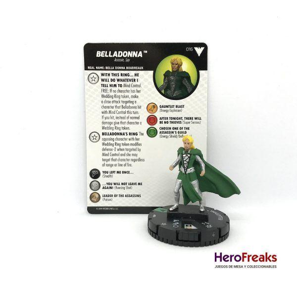 Heroclix X-Men Dark Phoenix Saga – 016 Belladonna