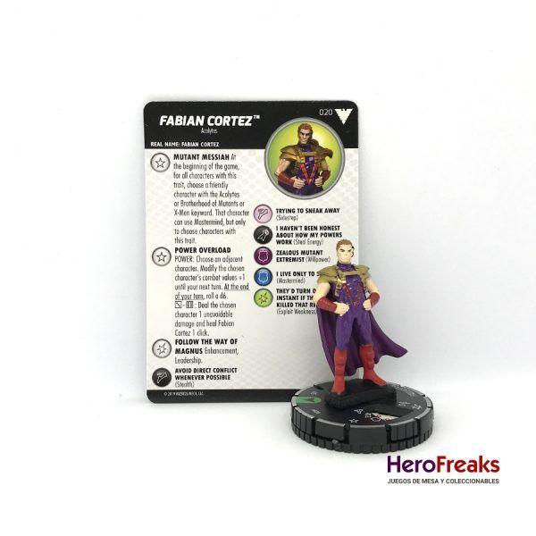 Heroclix X-Men Dark Phoenix Saga – 020 Fabian Cortez