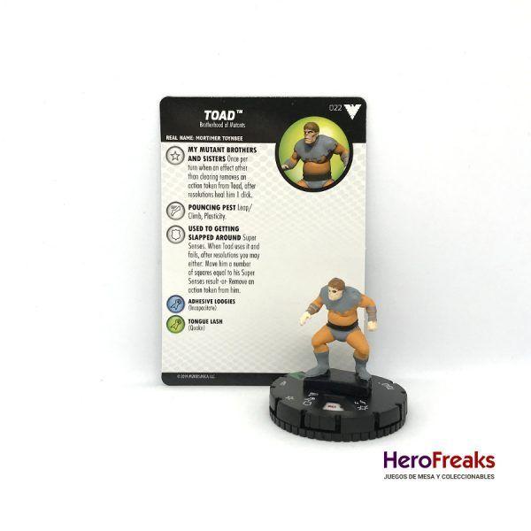 Heroclix X-Men Dark Phoenix Saga – 022 Toad