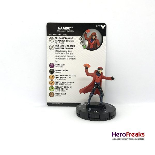 Heroclix X-Men Dark Phoenix Saga – 025 Gambit