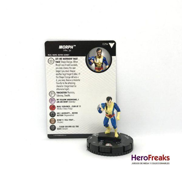 Heroclix X-Men Dark Phoenix Saga – 029a Morph