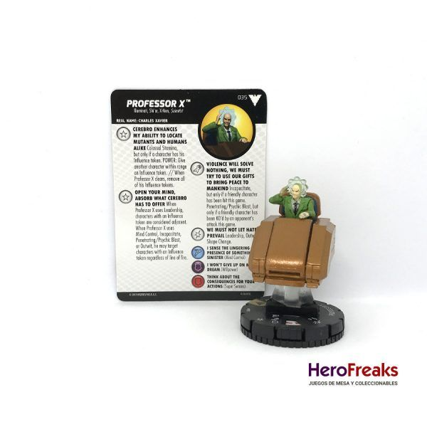 Heroclix X-Men Dark Phoenix Saga – 035 Professor X