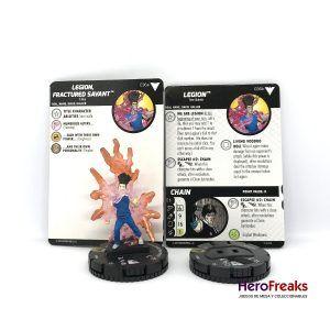Heroclix X-Men Dark Phoenix Saga – 036a:36b Legion, Fracture Savant