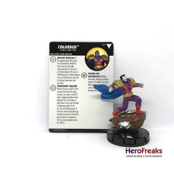 Heroclix X-Men Dark Phoenix Saga – 037 Colossus