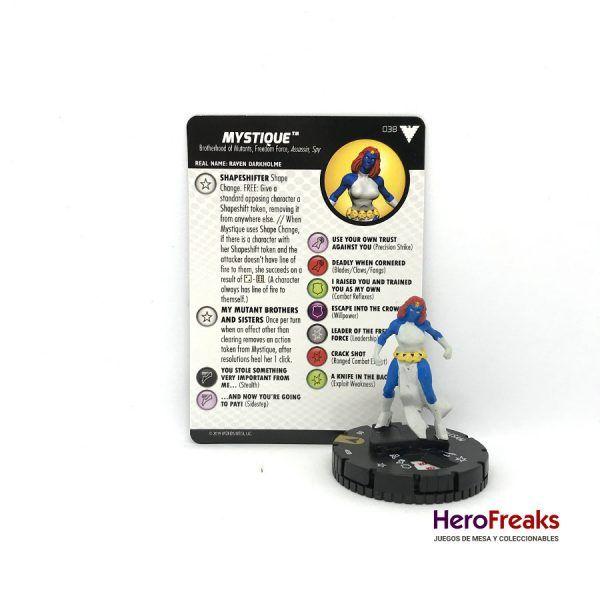 Heroclix X-Men Dark Phoenix Saga – 038 Mystique