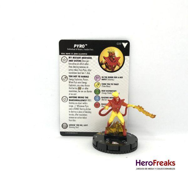 Heroclix X-Men Dark Phoenix Saga – 039 Pyro