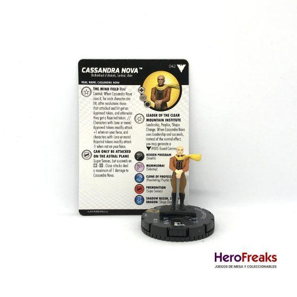 Heroclix X-Men Dark Phoenix Saga – 042 Cassandra Nova