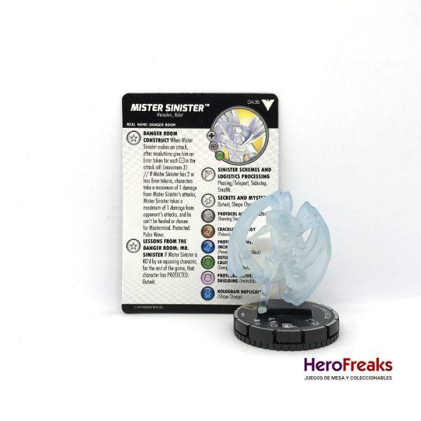 Heroclix X-Men Dark Phoenix Saga – 043b Mister Sinister
