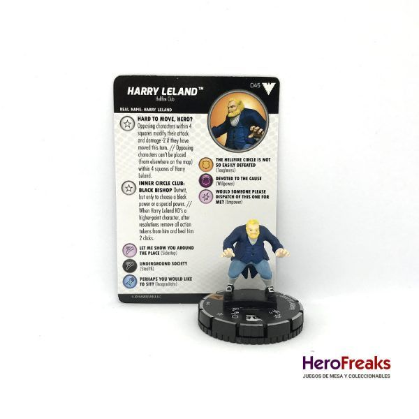 Heroclix X-Men Dark Phoenix Saga – 045 Harry Leland
