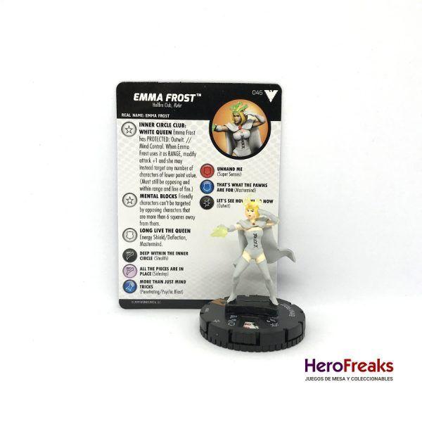 Heroclix X-Men Dark Phoenix Saga – 046 Emma Frost