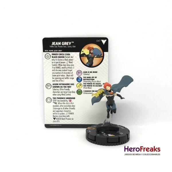 Heroclix X-Men Dark Phoenix Saga – 047 Jean Grey