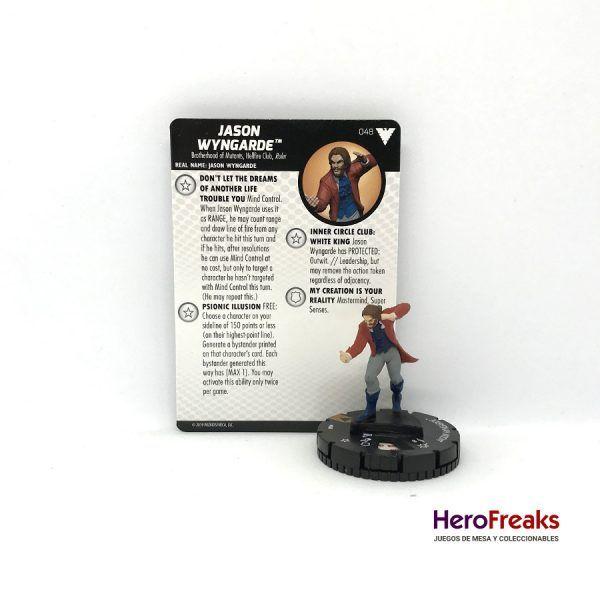 Heroclix X-Men Dark Phoenix Saga – 048 Jason Wyngarde