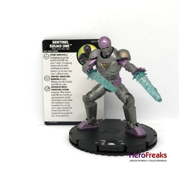 Heroclix X-Men Dark Phoenix Saga – G001a Sentinel Squad One