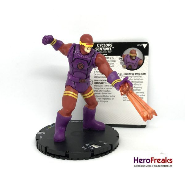 Heroclix X-Men Dark Phoenix Saga – G012 Cyclops Sentinel