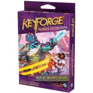 Keyforge - Mundos en Colisión - Mazo de Arconte Deluxe