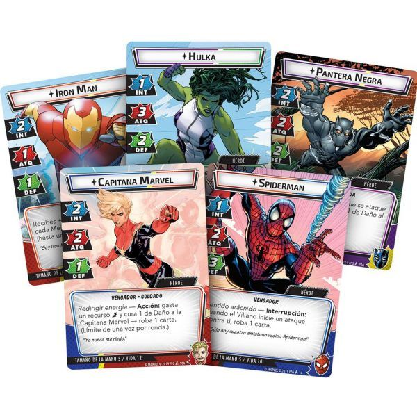 Marvel Champions - Caja Básica