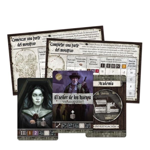 Abominación El Heredero de Frankenstein Content