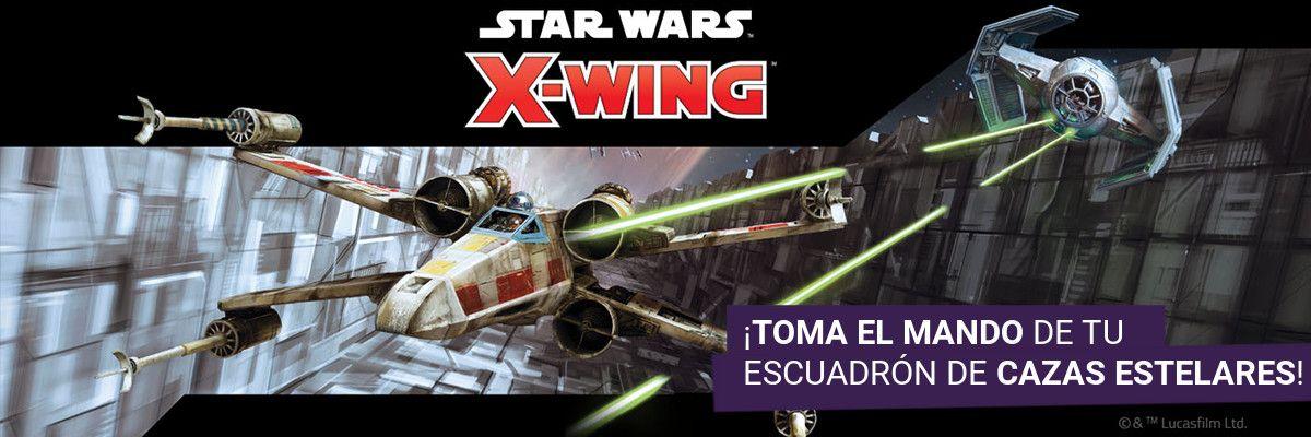 Star Wars X-Wing Segunda Edición Banner 2